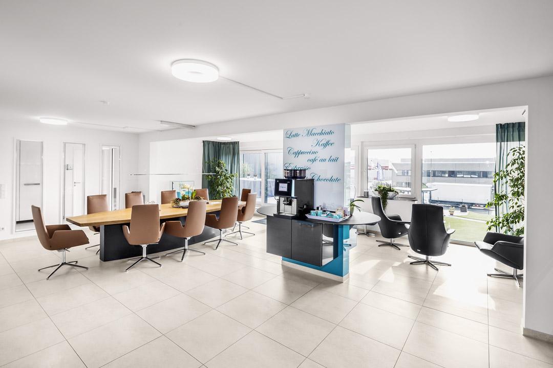 Büroräume bei Dihse